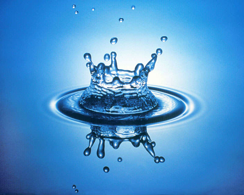 Water Droplet Crown And Rings